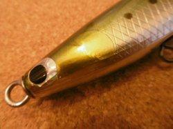 画像2: KZ WORKS ブルーソード 60S 130mm 60g シンキング カラー:ビビリマイワシ