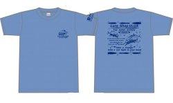 画像1: ルアーショップ ウルア オリジナルGT Tシャツ ver2 カラー:ミックスブルー サイズ:L