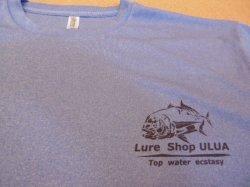 画像3: ルアーショップ ウルア オリジナルGT Tシャツ ver2 カラー:ミックスブルー サイズ:L