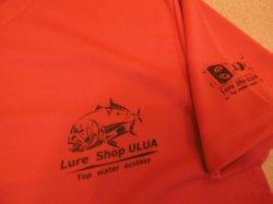 画像3: ルアーショップ ウルア オリジナルGT Tシャツ ver2 カラー:ガーネットレッド サイズ:L